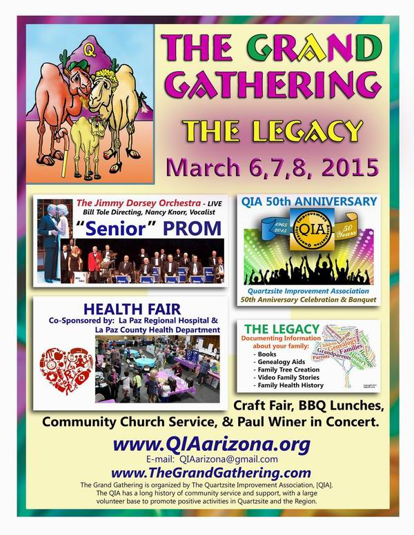 QIA Grand Gathering Poster