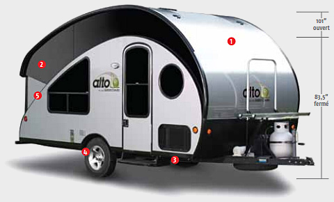 Rv Pods Are Sleek And Cool Looking Little Trailers