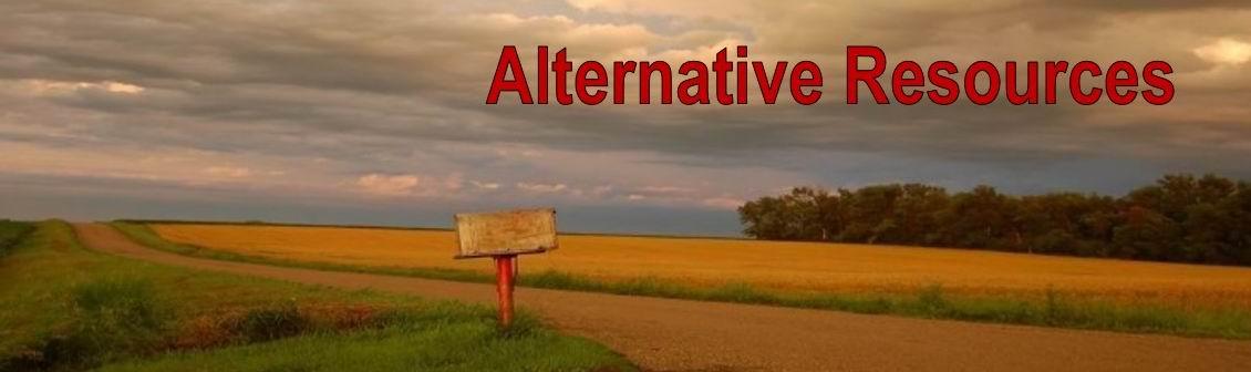 Alternative Resources