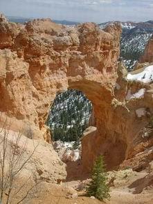 Natural Bridge Bryce Canyon