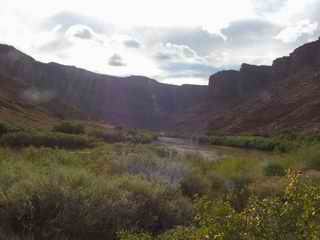 Colorado River Utah from Bedroom