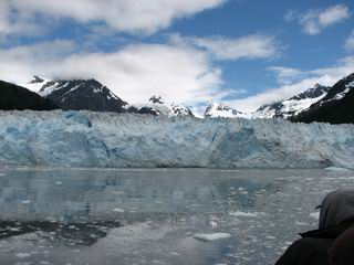 Massive Glacier in Valdez Harbor
