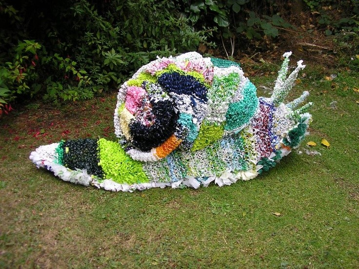 Plarn Snail