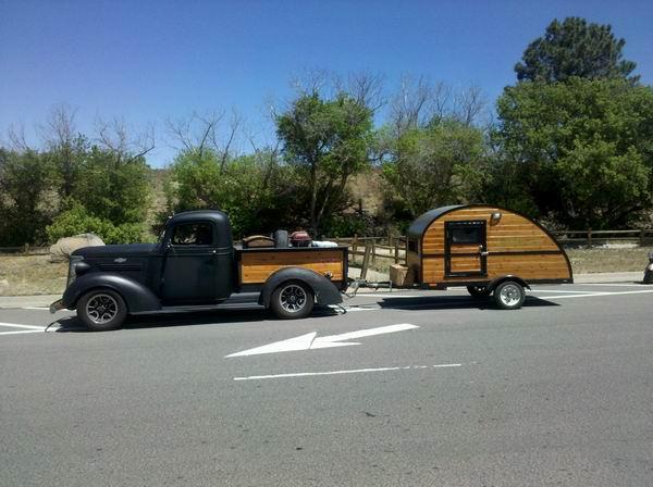 Pod Woodie on RT 66, Williams, AZ