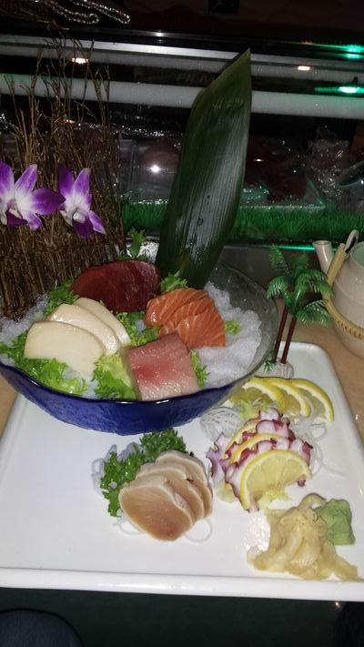 Sashimi at Sakura, Gillette, WY