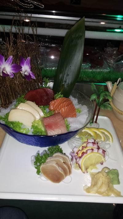 Sashimi at Sakura, Gillette, WY