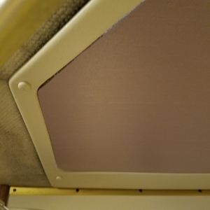Shower Skylight Cover for RV - Left Area