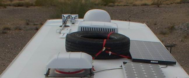 Spare Tire Roof