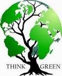 Think Green Globe