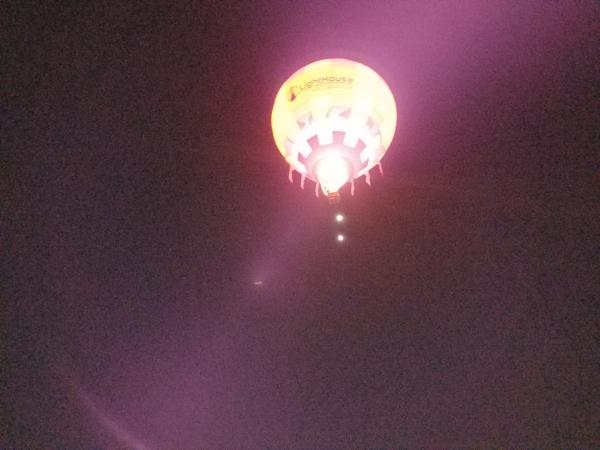 Dawn Soaring Overhead