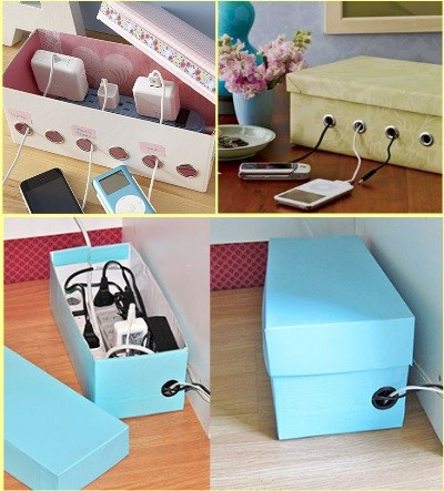 Crafted Shoe Boxes
